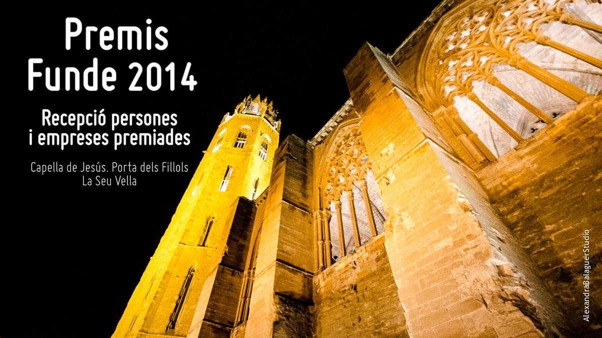 Recepció premiats Gala Premis Funde 2014