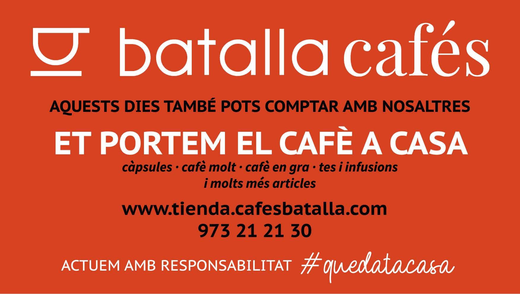 ET PORTEM EL CAFÊ A CASA – BATALLA CAFÈS